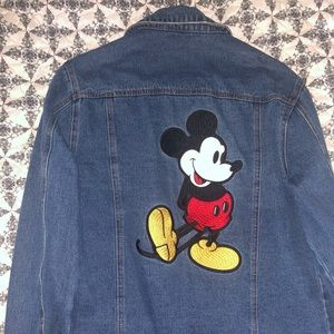 Disney denim jacket